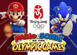 Mario & Sonic At The Olympic Games - Logo