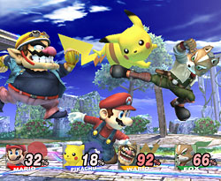 Super Smash Bros. Brawl - Free For All