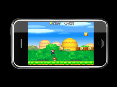 New Super Mario Bros. On iPhone