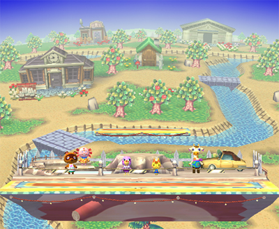 Super Smash Bros. Brawl - Smashville