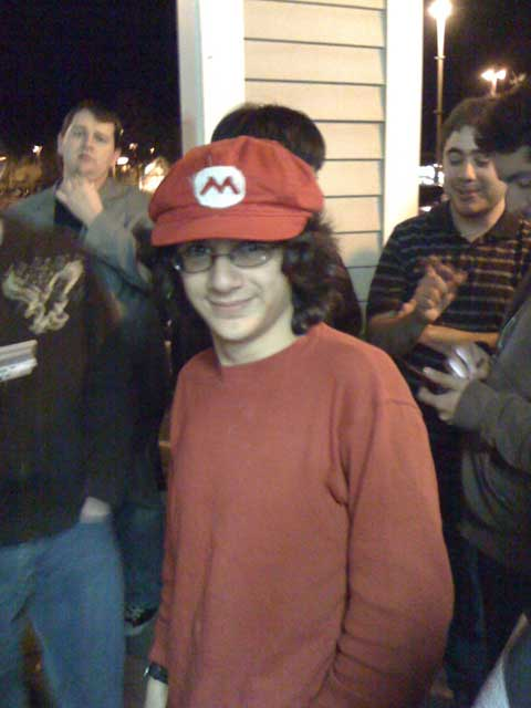 Brawl Midnight Release - Mario Cosplay