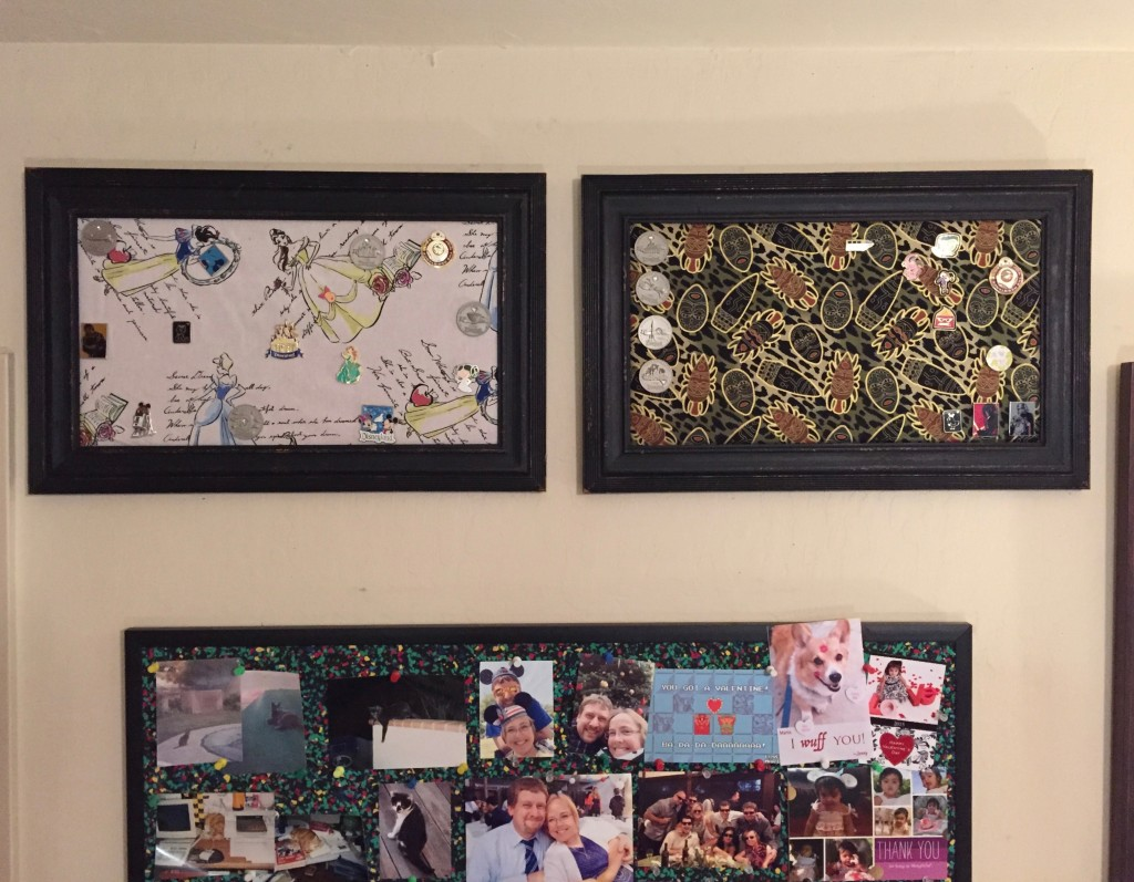 Jenny and Mario's Disney Pin Boards